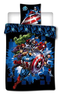 The Avengers dekbedovertrek Team 100% katoen