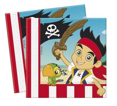 Disney Jake en de Nooitgedachtland piraten servetten