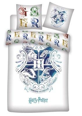 Harry Potter dekbedovertrek wit