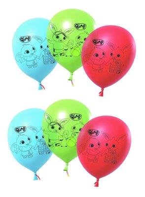 Bing het konijn ballonnen 27cm groot Fiesta
