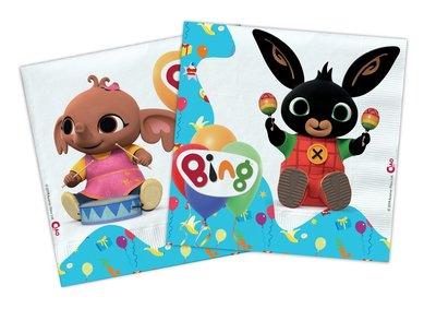 Bing het konijn servetten Fiesta