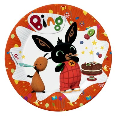 Bing het konijn gebak bordjes Fiesta