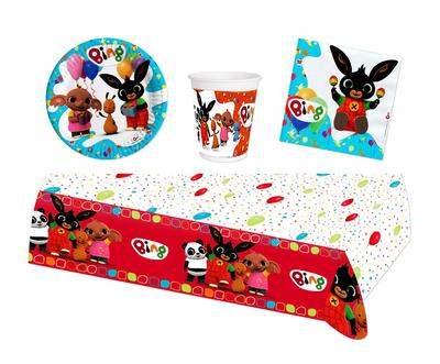Bing het konijn feestpakket - voordeelpakket 8 personen Fiesta