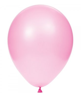 Ballonnen 30 centimeter unikleur roze