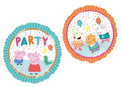 Peppa Pig folie ballon PARTY voor helium en lucht