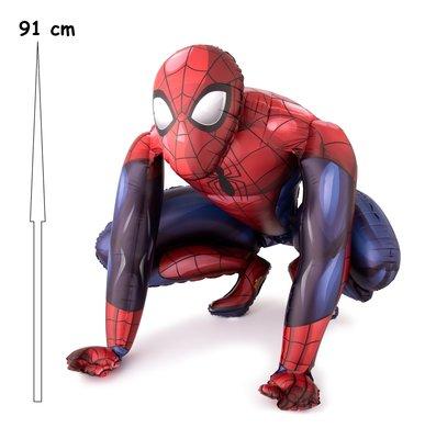 Spiderman Airwalker folie ballon 91cm groot