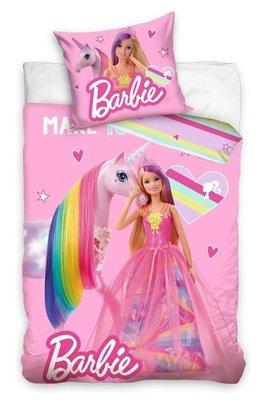 Barbie dekbedovertrek eenhoorn