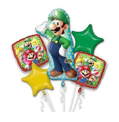 Super Mario folie ballonnen set Luigi