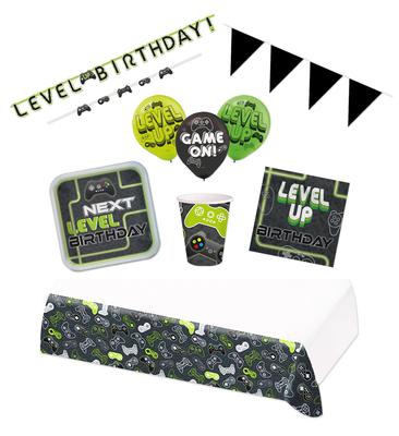 Gaming feestpakket Deluxe - Pakket voor 8 personen