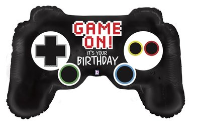 Gaming folie ballon controler Happy Birthday