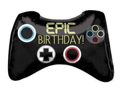 Gaming folie ballon controler Epic Birthday!