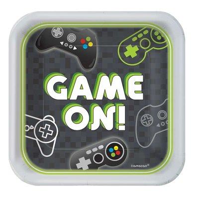 Gaming taartbordjes