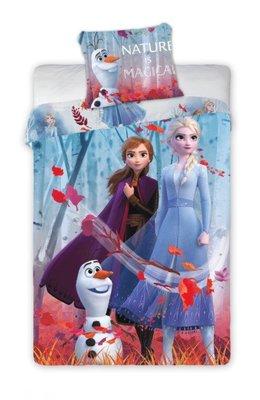 Disney Frozen 2 dekbedovertrek 140x200cm Nature is Magical
