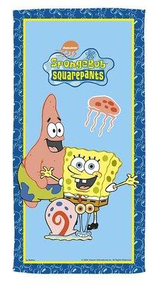 Spongebob badlaken - strandlaken Friends