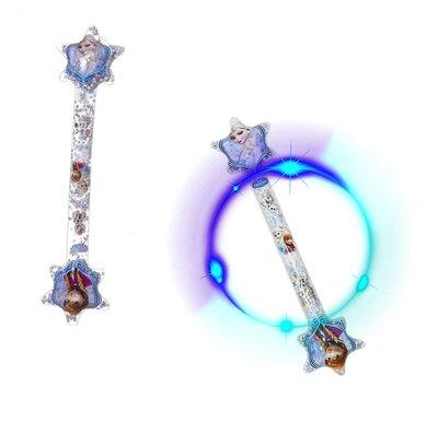 Disney Frozen opblaasbaar toverstaf met licht 67cm