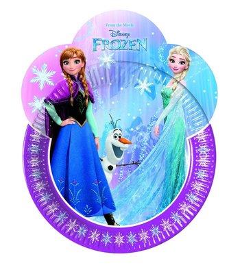Disney Frozen party bordjes super shape