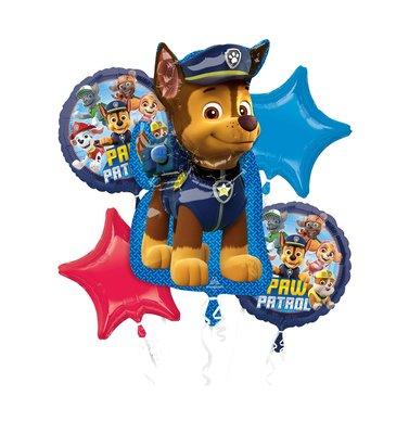 Paw Patrol folie ballonnen set Chase 2021