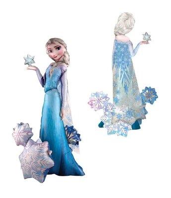 Disney Frozen Elsa Airwalker folie ballon 144 cm groot