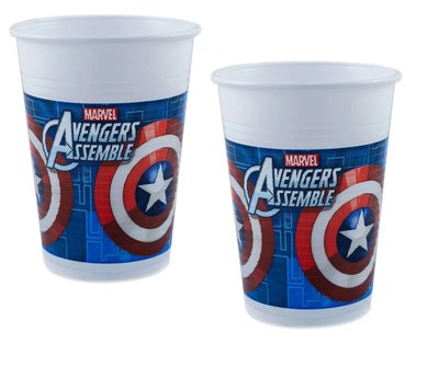 The Avengers party bekers