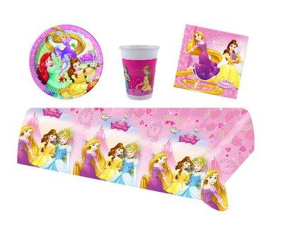 Disney Princess feestpakket - voordeelpakket 8 personen