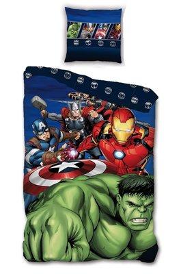 The Avengers superhelden dekbedovertrek 140x200cm