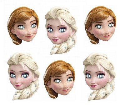 Disney Frozen feest maskers