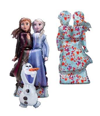 Disney Frozen 2 Airwalker folie ballon 147 cm groot