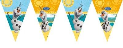 Disney Frozen Olaf feestslinger vlaggenlijn