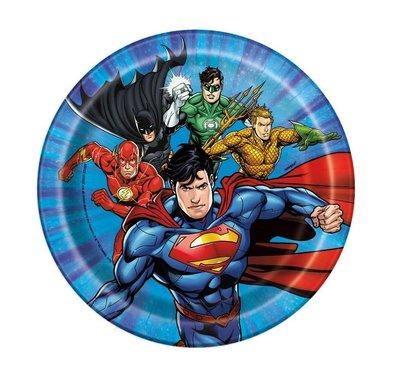 Justice League gebaksbordjes
