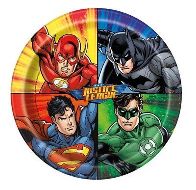 Justice League party bordjes