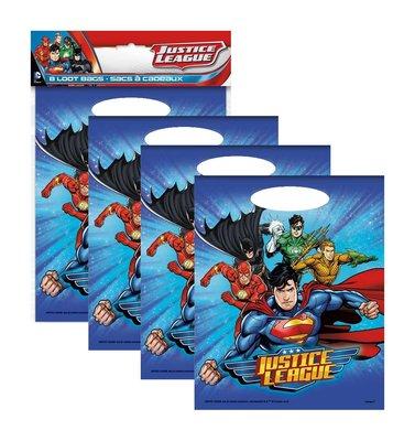 Justice League uitdeelzakjes