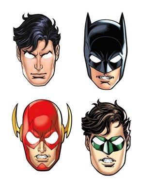 Justice League feest maskers