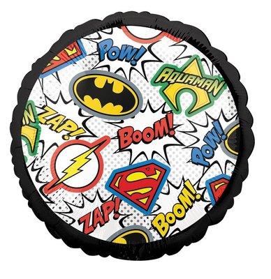 Justice League folie ballon tekst - logo