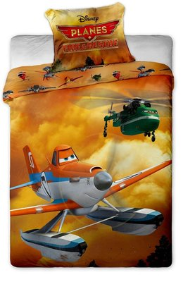 Disney Planes Fire & Rescue dekbedovertrek
