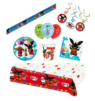 Bing het konijn feestpakket Deluxe - voordeelpakket 8 personen Fiesta