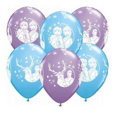 Disney Frozen 2 ballonnen zak van 25 stuks 30cm