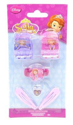 Sofia het Prinsesje 6-delig haaraccessoires set