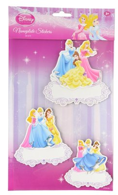 Disney Princess naambord set