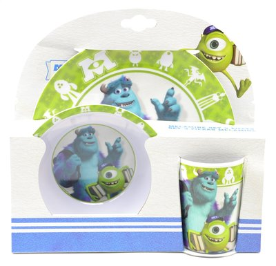Monsters University dinner set
