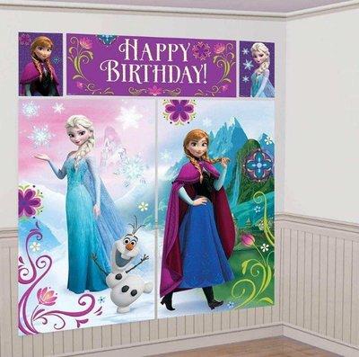 Disney Frozen XXL verjaardagsbanner