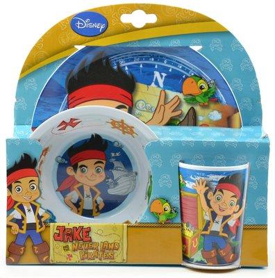 Disney Jake en de Nooitgedachtland piraten dinner set