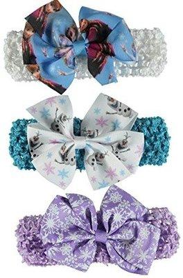 Disney Frozen haarbandjes - elastiekjes