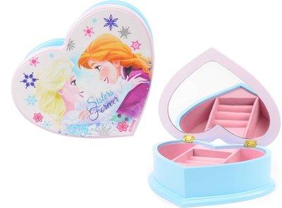 Disney Frozen hart vormig sieraden opbergbox roze