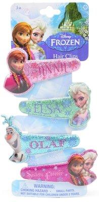 Disney Frozen glitter haarclips