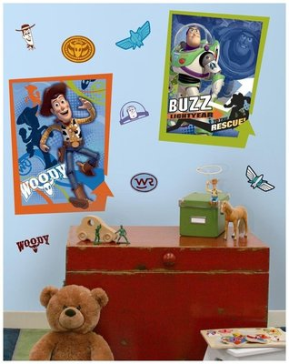 Disney Toy Story XL wanddecoratie muurstickers