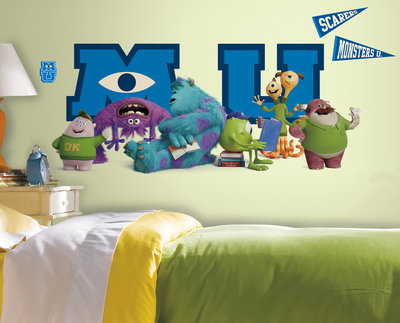 Monsters University Maxi wanddecoratie muursticker