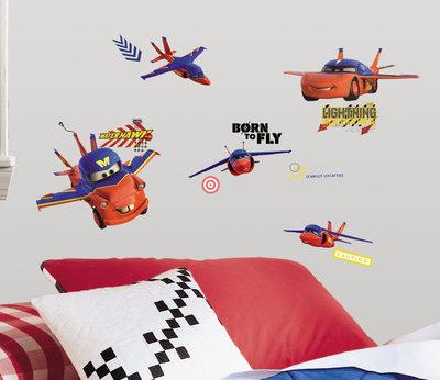 Disney Planes matter 44 delig wanddecoratie muurstickers set