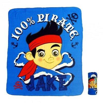 Disney Jake en de nooitgedachtland piraten fleece deken