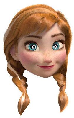 Disney Frozen feest masker Anna