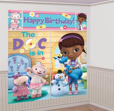 De Speelgoed Dokter XXL verjaardagsbanner